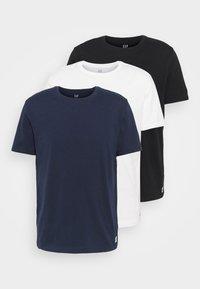 GAP - CREW JOCK TAG 3 PACK - Basic T-shirt - blue - 5