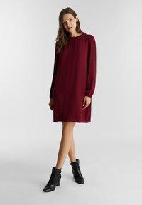 Esprit - Denní šaty - bordeaux red - 1