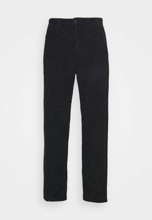 LOOSE FIT PANT - Pantalones - washed black