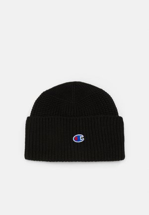 LOGO BEANIE - Mütze - black