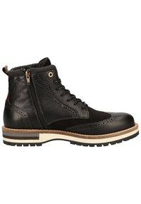 Pantofola d'Oro - Botines con cordones - black - 6