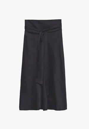A-line skirt - svart