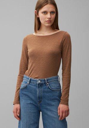 LONGSLEEVE - Long sleeved top - chestnut brown