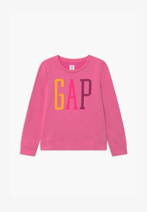 GIRLS LOGO - Mikina - super pink neon