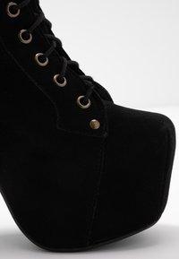 Jeffrey Campbell - LITA - Kotníková obuv na vysokém podpatku - black - 2