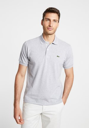 Poloshirt - mottled light grey
