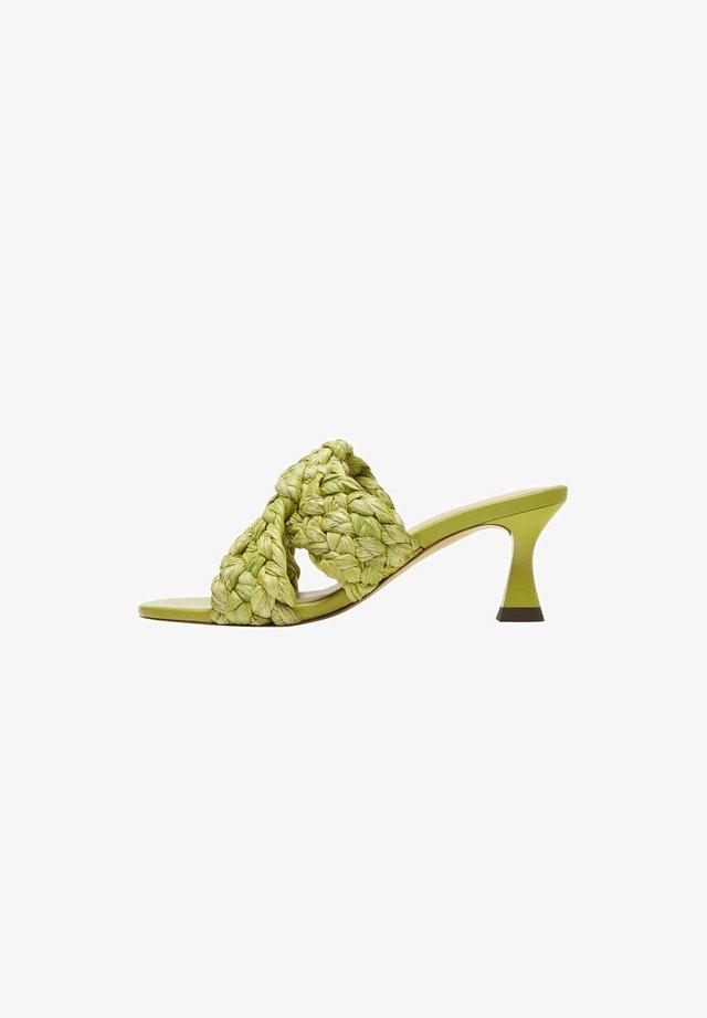Sandały - green