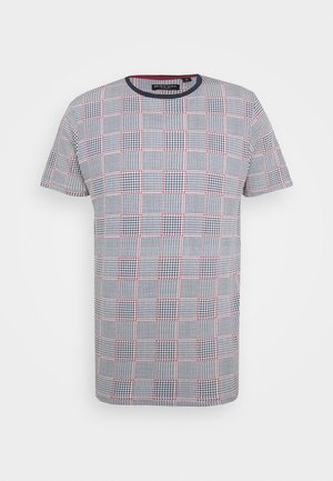 CHILIAN - T-shirt print - navy/red/ecru