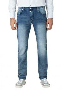 Timezone - Slim fit jeans - antique blue wash - 1