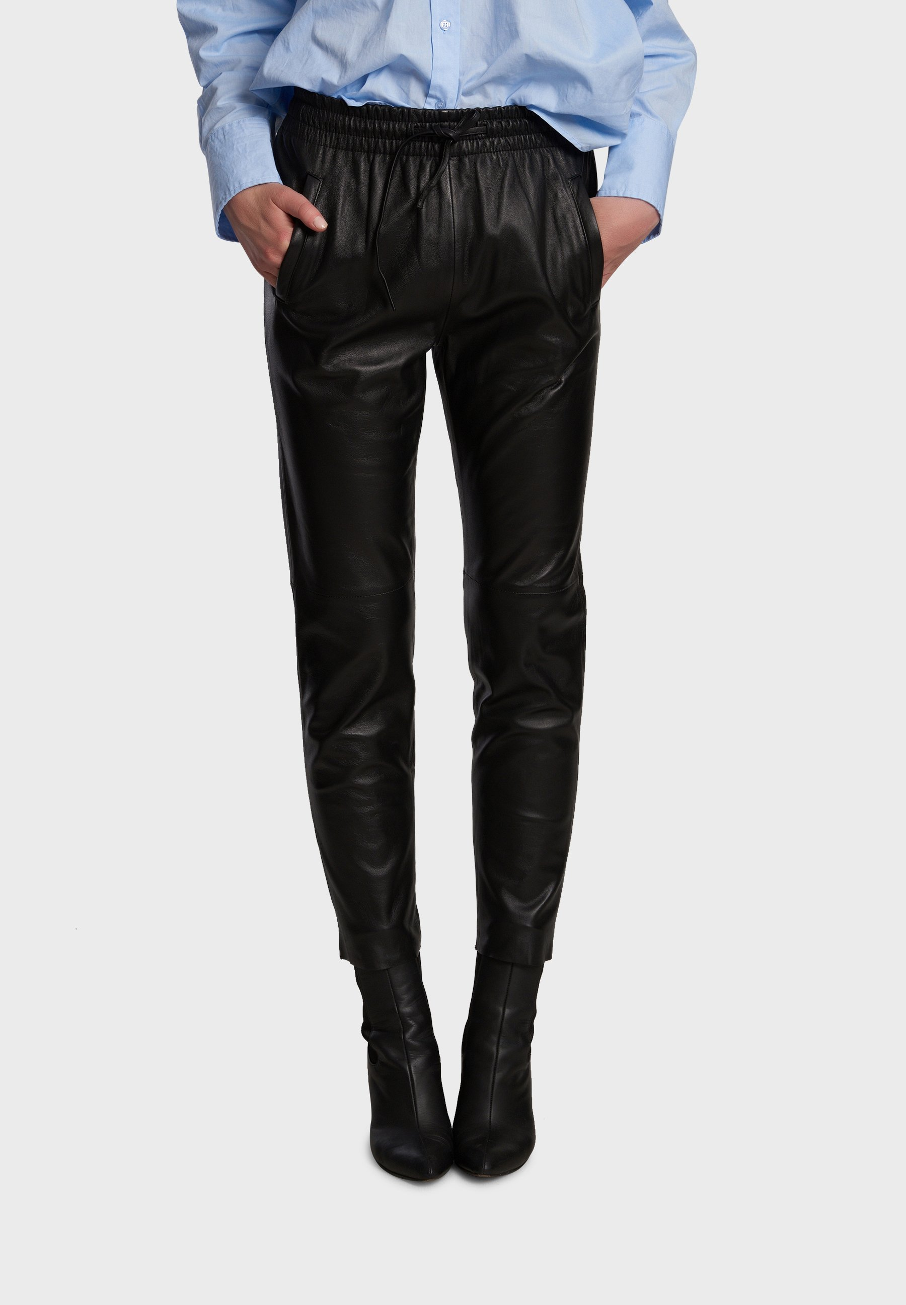 Women GIFT - Leather trousers