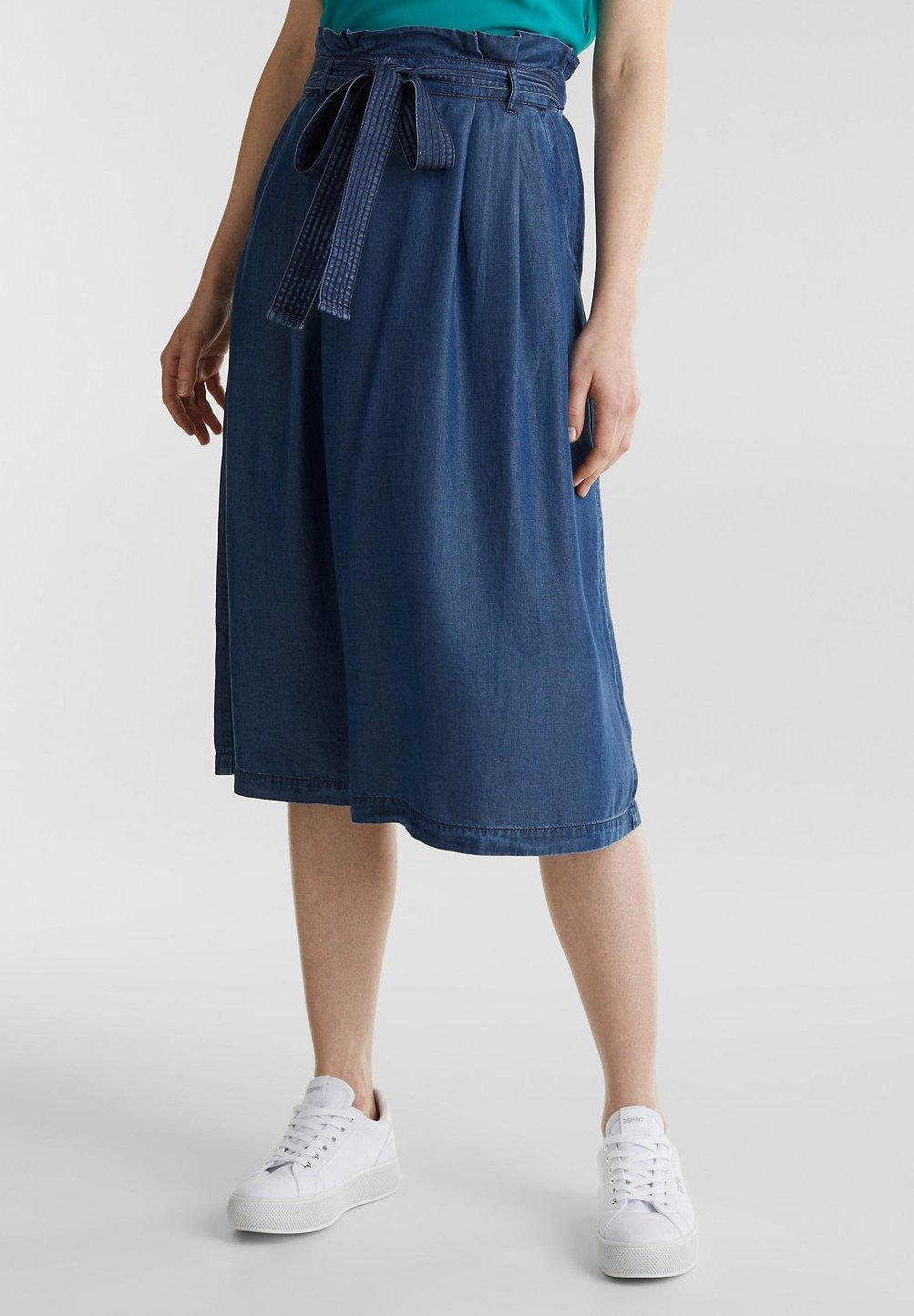 Femme PAPERBAG SKIRT - Jupe plissée