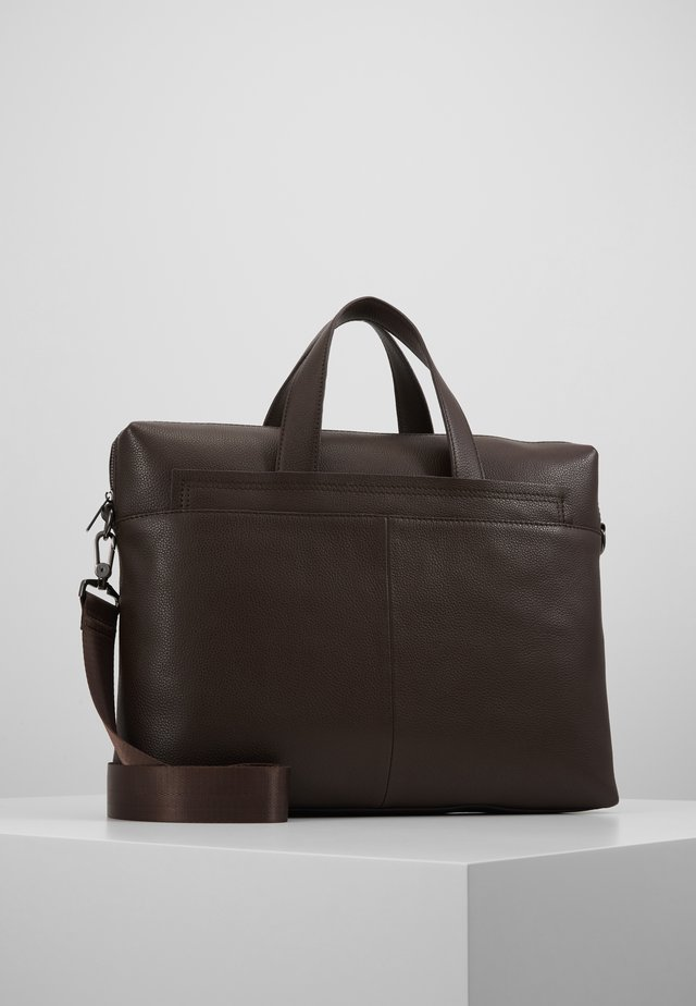 LEATHER - Ventiquattrore - dark brown