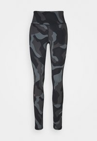 Under Armour - RUSH CAMO LEGGING - Leggings - black