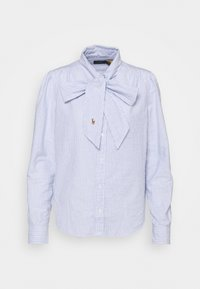 Polo Ralph Lauren - LONG SLEEVE BUTTON FRONT SHIRT - Camicetta - blue multi - 4