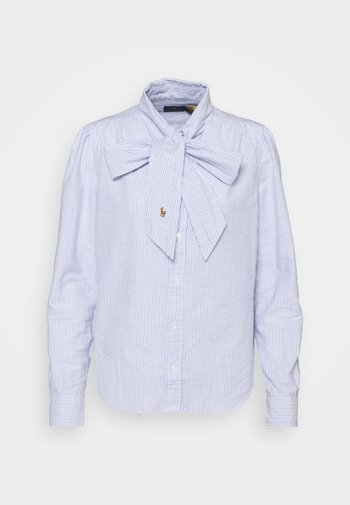 LONG SLEEVE BUTTON FRONT SHIRT - Camicetta - blue multi