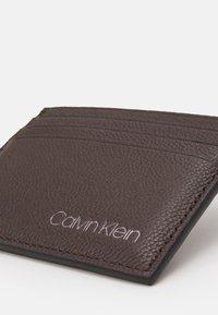 Calvin Klein - CARDHOLDER UNISEX - Wallet - brown - 3