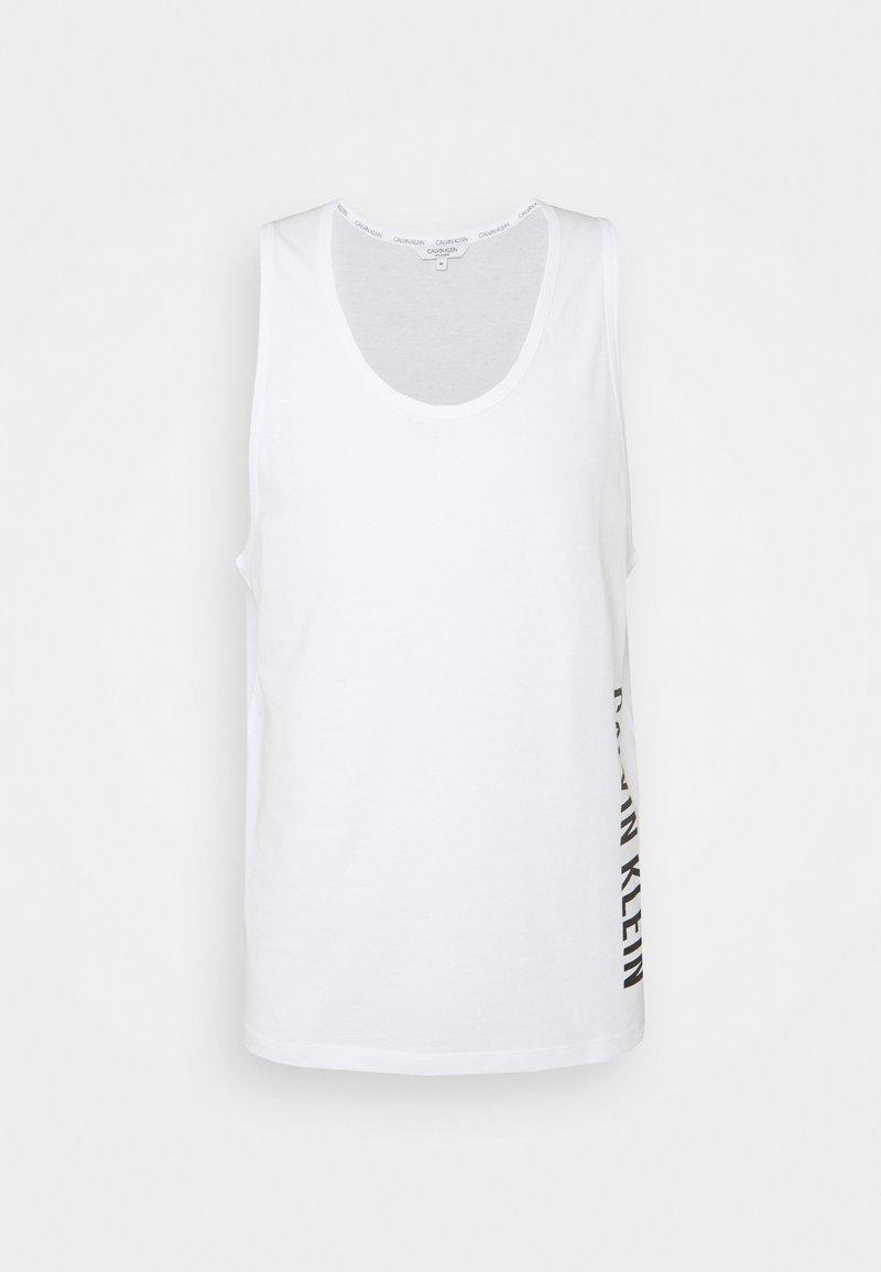 Calvin Klein Swimwear - INTENSE POWER CREW TANK - Undershirt - classic white