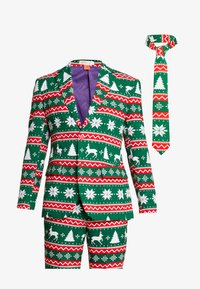 OppoSuits - FESTIVE - Suit - green - 11