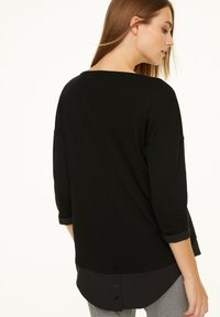 comma casual identity - Long sleeved top - black - 2