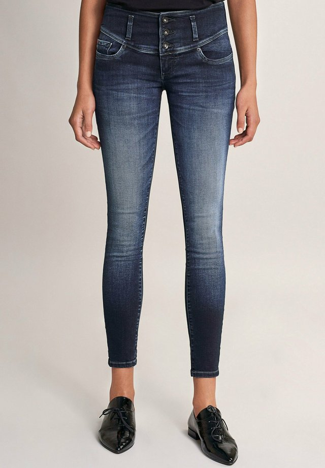 MYSTERY PUSH UP  - Jeans Skinny Fit - blau