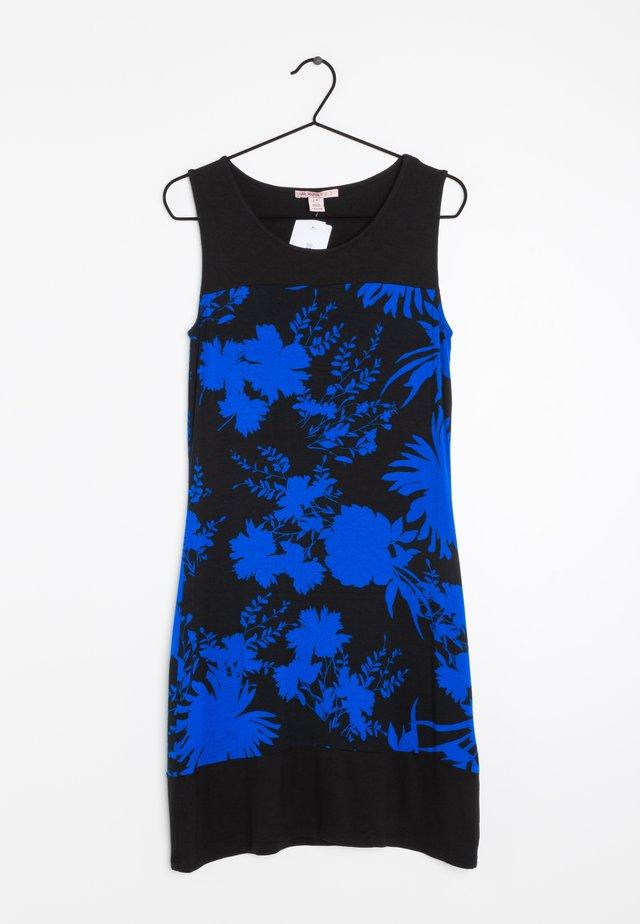 Korte jurk - black blue