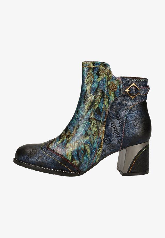 Ankle boots - bleu
