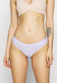 Cotton On Body - BRASILIANO 3 PACK - Braguitas - grey/white/chalky lavendar - 3