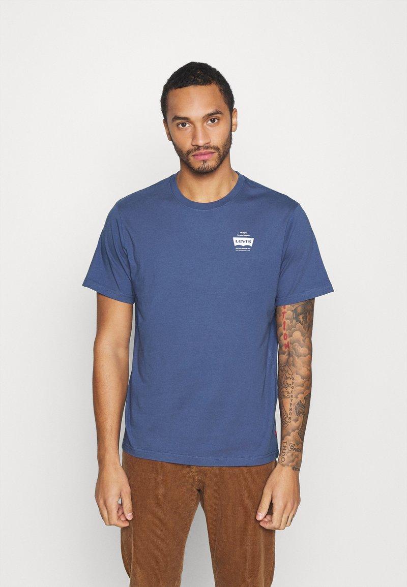 Levi's® - TEE UNISEX - Print T-shirt - blue indigo