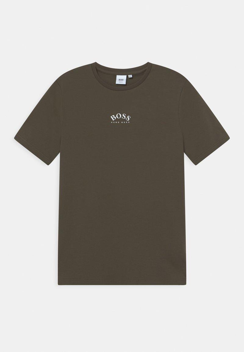 BOSS - T-shirt basic - khaki