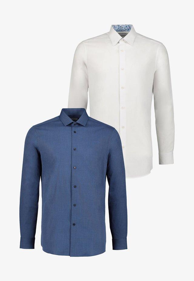 2 PACK - Shirt - blue