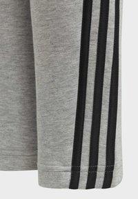 adidas Performance - 3-STREIFEN DOUBLEKNIT TAPERED LEG HOSE - Trousers - grey - 5