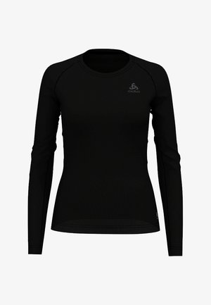 ACTIVE  - Topper langermet - black