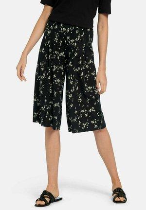 Shorts - schwarz/zitrone