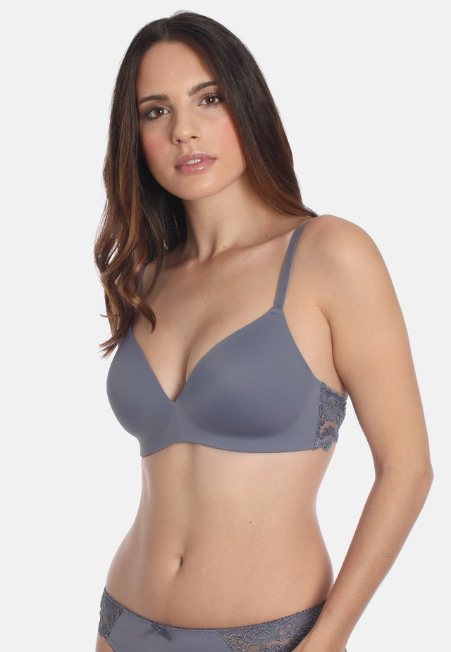 2 PACK - Triangle bra - dusty grey