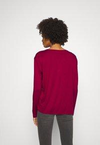 Desigual - MARSELLA - T-shirt à manches longues - borgoña - 2