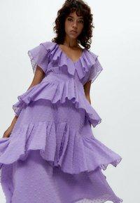 Uterqüe - Day dress - lilac - 4