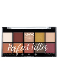 Nyx Professional Makeup - PERFECT FILTER SHADOW PALETTE - Paleta cieni - 2 rustic antique - 0