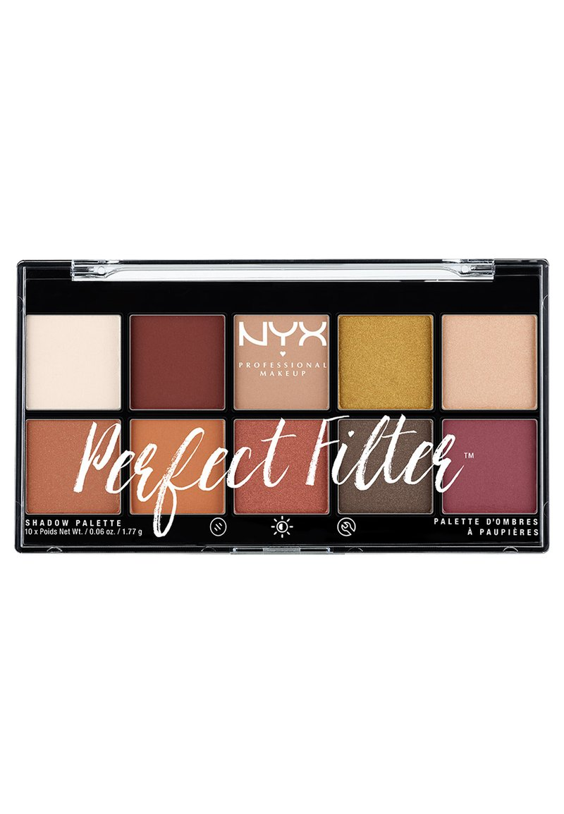Nyx Professional Makeup - PERFECT FILTER SHADOW PALETTE - Paleta cieni - 2 rustic antique