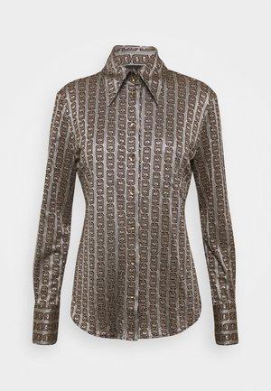 SISMA - Button-down blouse - multi marrone/oro