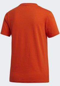 adidas Originals - TREFOIL TEE - T-shirt print - energy orange/cardboard - 10