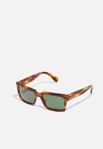 UNISEX - Sunglasses - striped havana