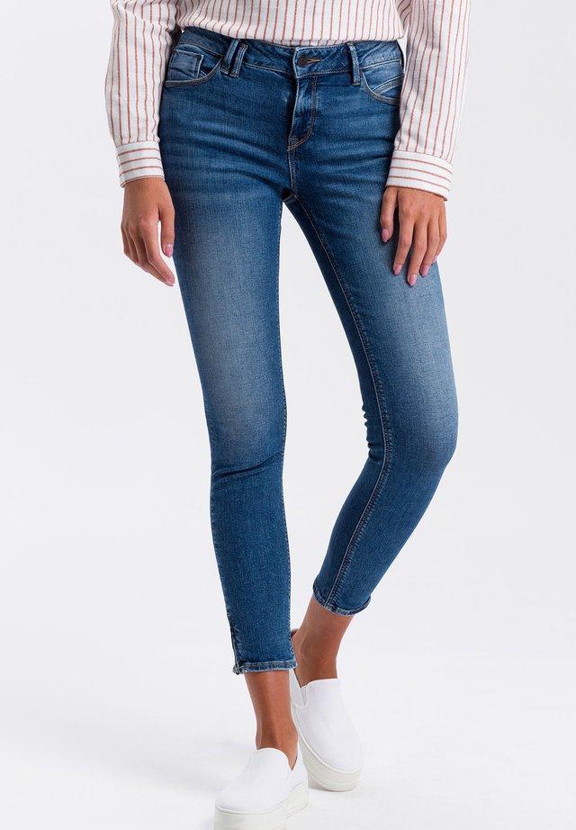 Jeans Skinny Fit - mid-blue-used