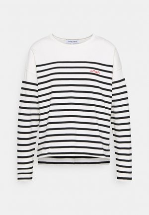 COOL SAILOR AMOUR - Jumper - ivory/black