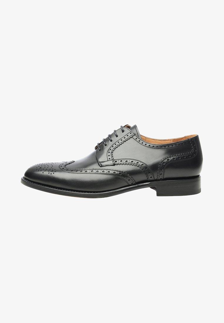 SHOEPASSION - NO. 550 - Smart lace-ups - black