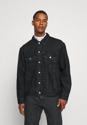 JACKET - Denim jacket - denim black