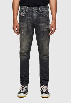 D-STRUKT - Slim fit jeans - black/dark grey