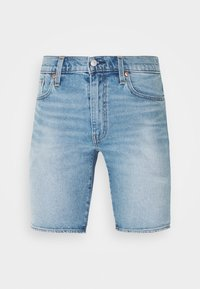412™ SLIM - Jeansshorts - light-blue denim