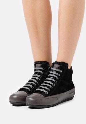 PLUS - Höga sneakers - tamponato/antracite/nero