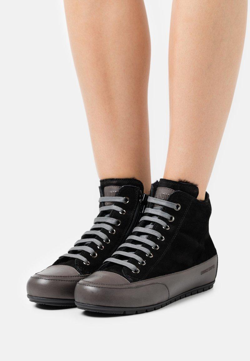 Candice Cooper - PLUS - High-top trainers - tamponato/antracite/nero