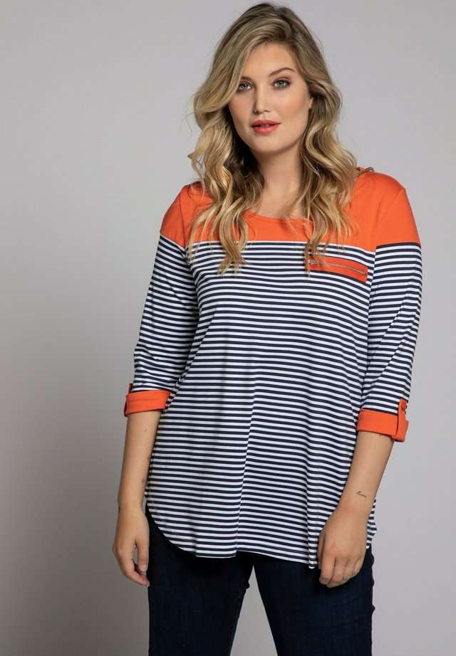 T-shirt à manches longues - bleu marine